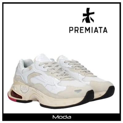 プレミアータ スニーカー レディース 白 ホワイト PREMIATA 靴 ローカット