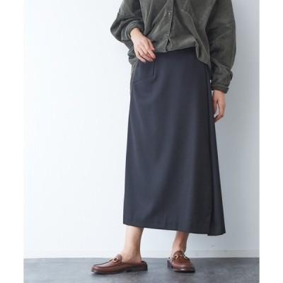 スカート サキソニーポケット付スカート