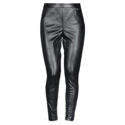SCEE by TWINSET パンツ ブラック S ポリエステル 100% / ポリウレタン樹脂 パンツ