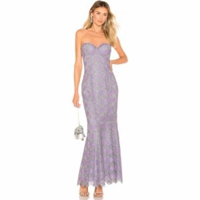 マジョレル MAJORELLE レディース パーティードレス ワンピース・ドレス Balfour Gown Purple/Silver