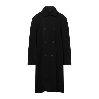 ジョルジオ アルマーニ GIORGIO ARMANI コート ブラック 48 バージンウール 100% コート