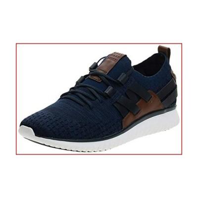 Cole Haan Men's Grand Motion Woven Stitchlite Sneaker, Navy Ink/Peony Knit/British Tan/Optic White, 9 M US【並行輸入品】