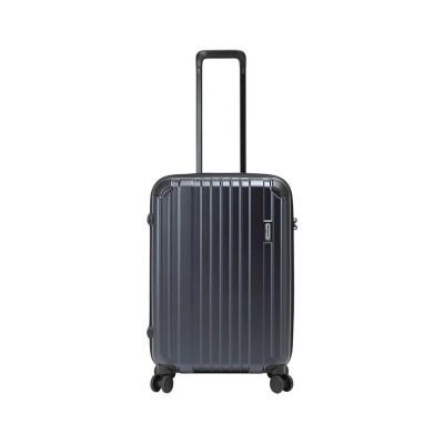【カバンのセレクション】 バーマス ヘリテージ スーツケース Mサイズ 54L ストッパー付き USBポート 軽量 BERMAS 60491 ユニセックス ネイビー フリー Bag&Luggage SELECTION