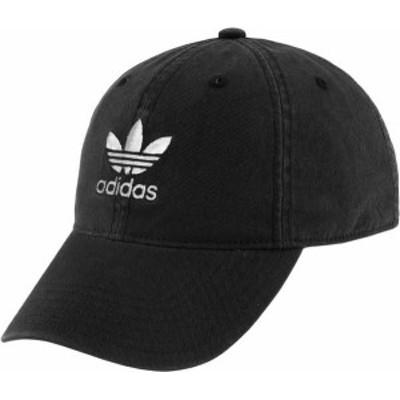 アディダス レディース 帽子 アクセサリー adidas Originals Women's Relaxed Strapback Hat Black