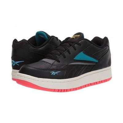 Reebok Lifestyle リーボック レディース 女性用 シューズ 靴 スニーカー 運動靴 Court Double Mix - Black/Grey/Seaport Teal