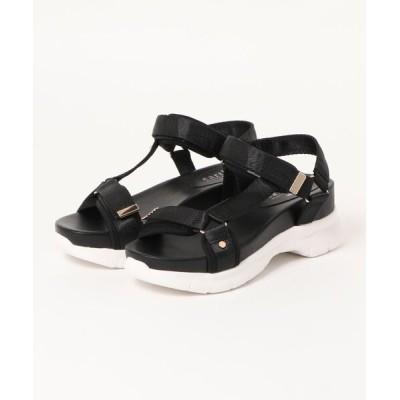 Xti Shoes / 【earth music&ecology Blue Label】ベルトスポーツサンダル WOMEN シューズ > サンダル
