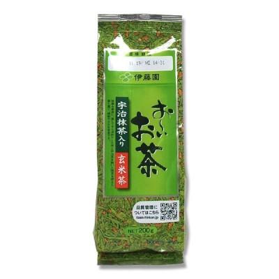 伊藤園 お〜いお茶 宇治抹茶入り玄米茶 200g