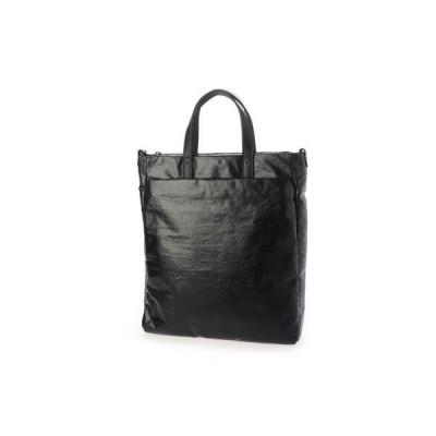サック SAC ビジネスにも使える、軽量、撥水素材ハンドバッグ  Sactave (ブラック)