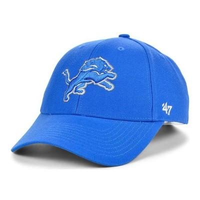 47ブランド 帽子 アクセサリー レディース Detroit Lions MVP Cap LightBlue