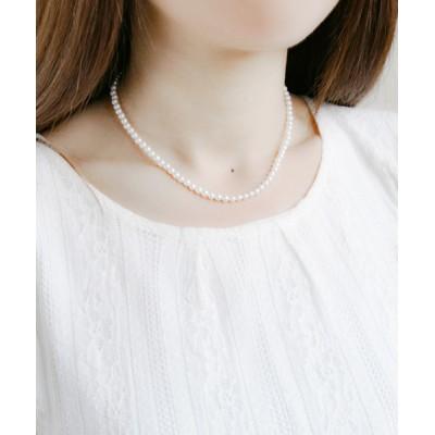 BLOOM ONLINE STORE / 【BLOOM/ブルーム】貝パール 35cm ネックレス WOMEN アクセサリー > ネックレス