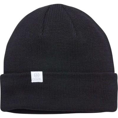 コール Coal Headwear レディース ニット ビーニー 帽子 FLT Beanie Black