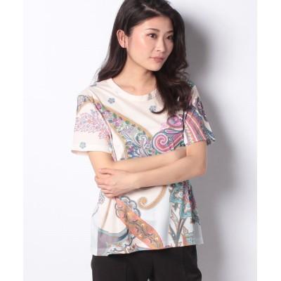 【デシグアル】 Tシャツ半袖 POPASLEY レディース ホワイト系 S Desigual