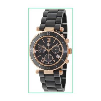GUESS Gc Diver Chic Black Ceramic Chronograph Timepiece【並行輸入品】