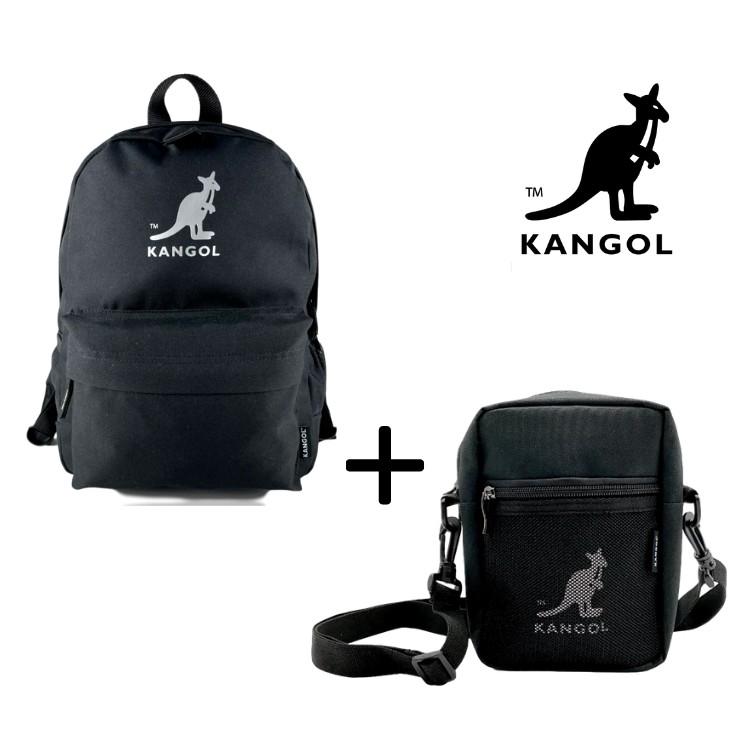 KANGOL 袋鼠 現貨 正品 銀河後背包+側背包 小包 背包 女生後背包 書包 肩背包  AAstore