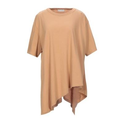 VIKA GAZINSKAYA T シャツ ブラウン M コットン 100% T シャツ