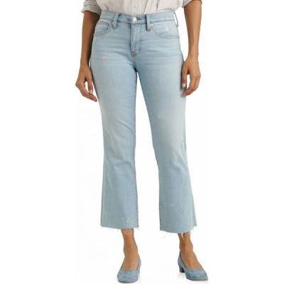ラッキーブランド Lucky Brand レディース ジーンズ・デニム ブーツカット ボトムス・パンツ Mid-Rise Ava Crop Mini Bootcut Jeans in Sevia Sevia
