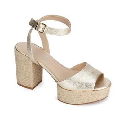 ケネスコール レディース サンダル シューズ Women's Pheonix Dress Sandal Light Gold
