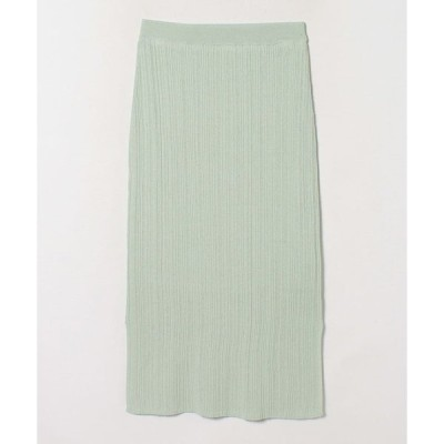 LANVIN en Bleu(Wear) / ランダムリブタイトニットスカート