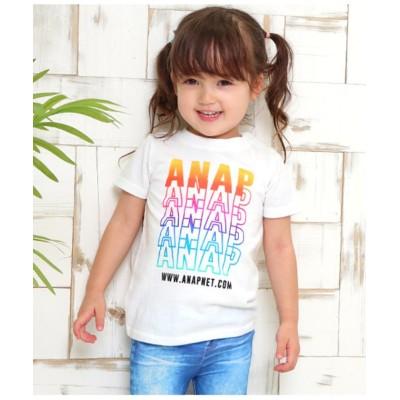 (ANAP KIDS/アナップキッズ)グラデーションプリントTee/ WH
