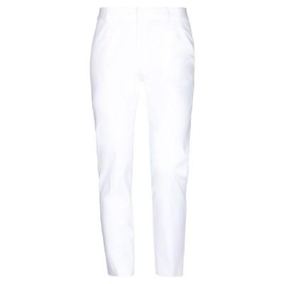 RALPH LAUREN COLLECTION パンツ ホワイト 6 コットン 92% / ポリウレタン 8% パンツ