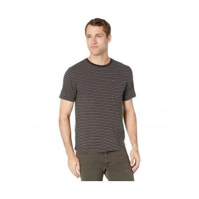 Lucky Brand ラッキーブランド メンズ 男性用 ファッション Tシャツ Stripe Pocket Tee - Black Multi