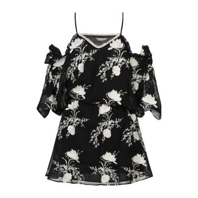 アリス・アンド・オリビア ALICE + OLIVIA ミニワンピース&ドレス ブラック XS ポリエステル 100% / コットン ミニワンピース