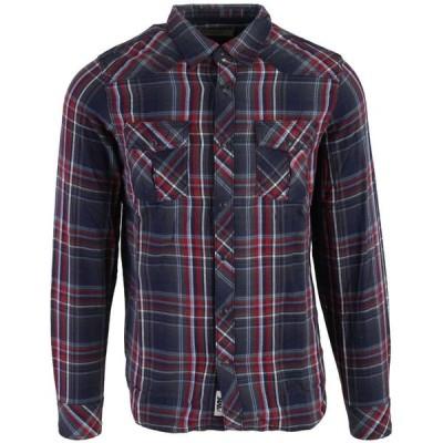 マウンテンカーキス Mountain Khakis メンズ シャツ トップス Rodeo L/S Shirt Midnight Blue