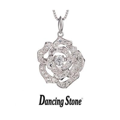 クロスフォーニューヨーク Crossfor NewYork ネックレス Dancing Stone ダンシングストーン 人気デザイン Twinkle Rose ローズ バラ 薔薇 NYP-526