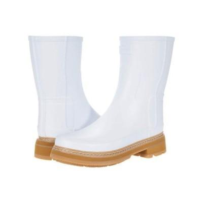 ハンター レディース ブーツ・レインブーツ シューズ Refined Short Stitch Detail Wellington Boots