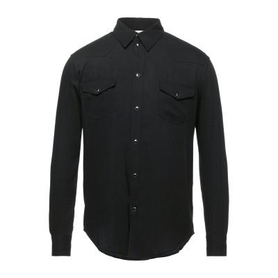 セリーヌ CELINE シャツ ブラック 39 レーヨン 100% シャツ