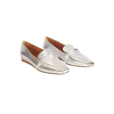 レディース アクセサリー  Veronica Beard Grier Metallic Leather Loafer