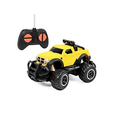 Click N' Play リモコンカー ミニピックアップトラック ロッククローラー ラジコンカー