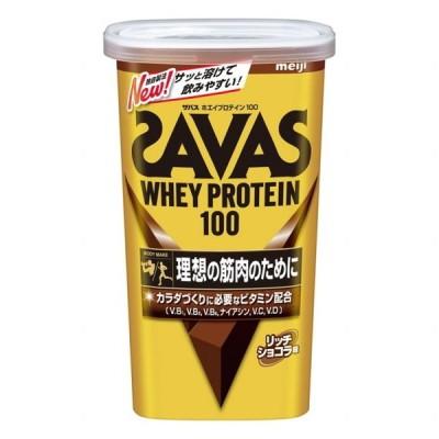 ザバス ホエイプロテイン 100 リッチショコラ味 294g(14食分)CZ7458 プロテイン SAVAS
