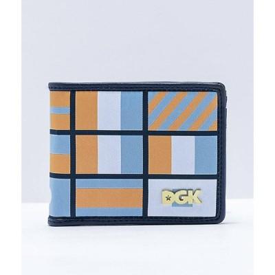ディージーケー DGK メンズ 財布 二つ折り nautical bifold wallet Black