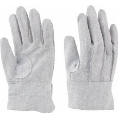 トワロン 牛床革 背縫い革手袋3双組【108-3P】(作業手袋・革手袋)
