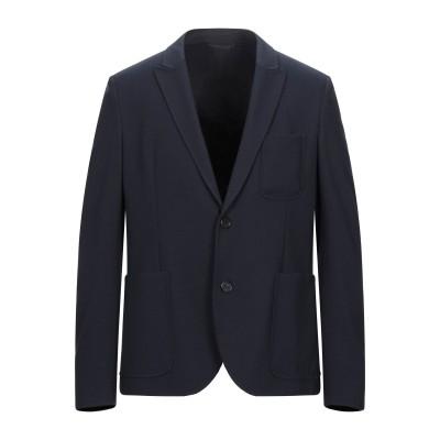 ニール・バレット NEIL BARRETT テーラードジャケット ダークブルー 50 レーヨン 65% / ナイロン 27% / ポリウレタン 8%
