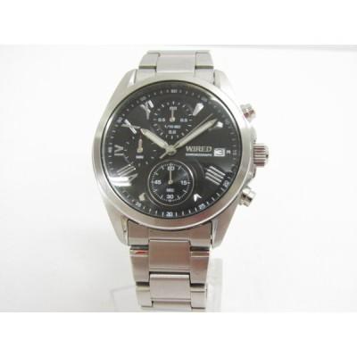 WIRED ワイアード VD57-KZ10 クロノグラフ クォーツ腕時計♪AC18739