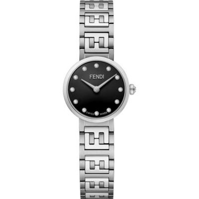 フェンディ FENDI レディース 腕時計 Forever Fendi Stainless Steel Bracelet Watch, 19mm Stainless Steel