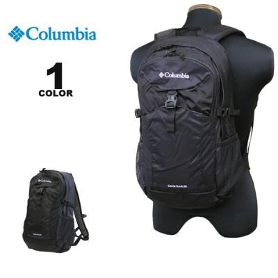 【SALE】コロンビア スポーツウェア Columbia リュック CASTLE ROCK 20L BACK PACK バックパック キャッスルロック ブラック 黒 メンズ レディース