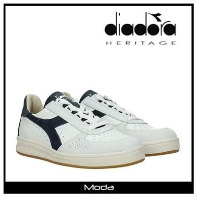 ディアドラ スニーカー メンズ ホワイト デニム DIADORA 靴 B ELITE ローカット