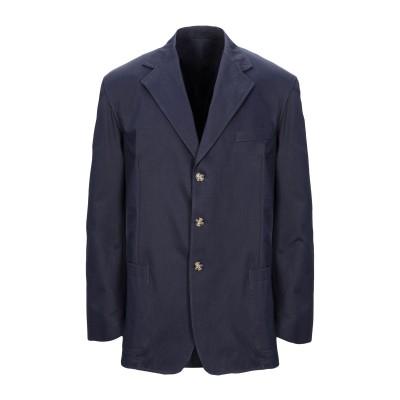 ADDICTION ITALIAN COUTURE テーラードジャケット ダークブルー 52 コットン 100% テーラードジャケット