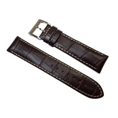 ハミルトン H32616533 H32606855 純正品 ダークブラウン カーフ ベルト 22mm  ジャズマスター オートクロノ H690326100 H690.326.100 正規品
