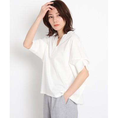 tシャツ Tシャツ 【洗える】リラクシードルマンスリーブカットソー