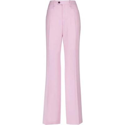 クロエ Chloe レディース ボトムス・パンツ Wool grain de poudre flared pants Sweet Lilac