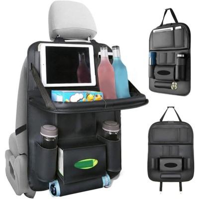 車用シートバックポケット Apsung シートバックポケット 車用収納ポケット 1個 後部座席収納 防水防汚 折り畳みテープ付き 多機能 大
