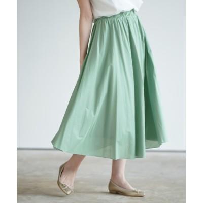 rps / コットンロングフレアースカート WOMEN スカート > スカート