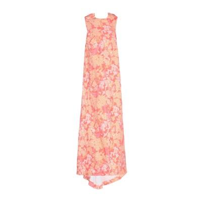 CULT GAIA 7分丈ワンピース・ドレス あんず色 M レーヨン 100% 7分丈ワンピース・ドレス