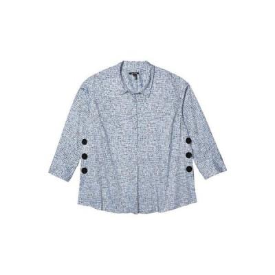 ニックプラスゾーイ レディース シャツ トップス Plus Size Naples Tunic Shirt