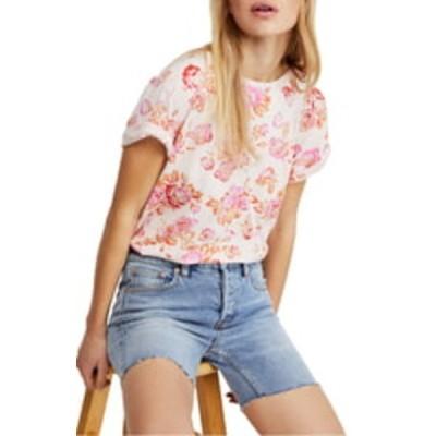 フリーピープル レディース Tシャツ トップス Tourist T-Shirt PINK