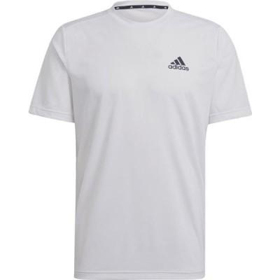 アディダス マルチスポーツ M D2M PL Tシャツ 20Q2 WHT/BLK Tシャツ(42164-gm5509)